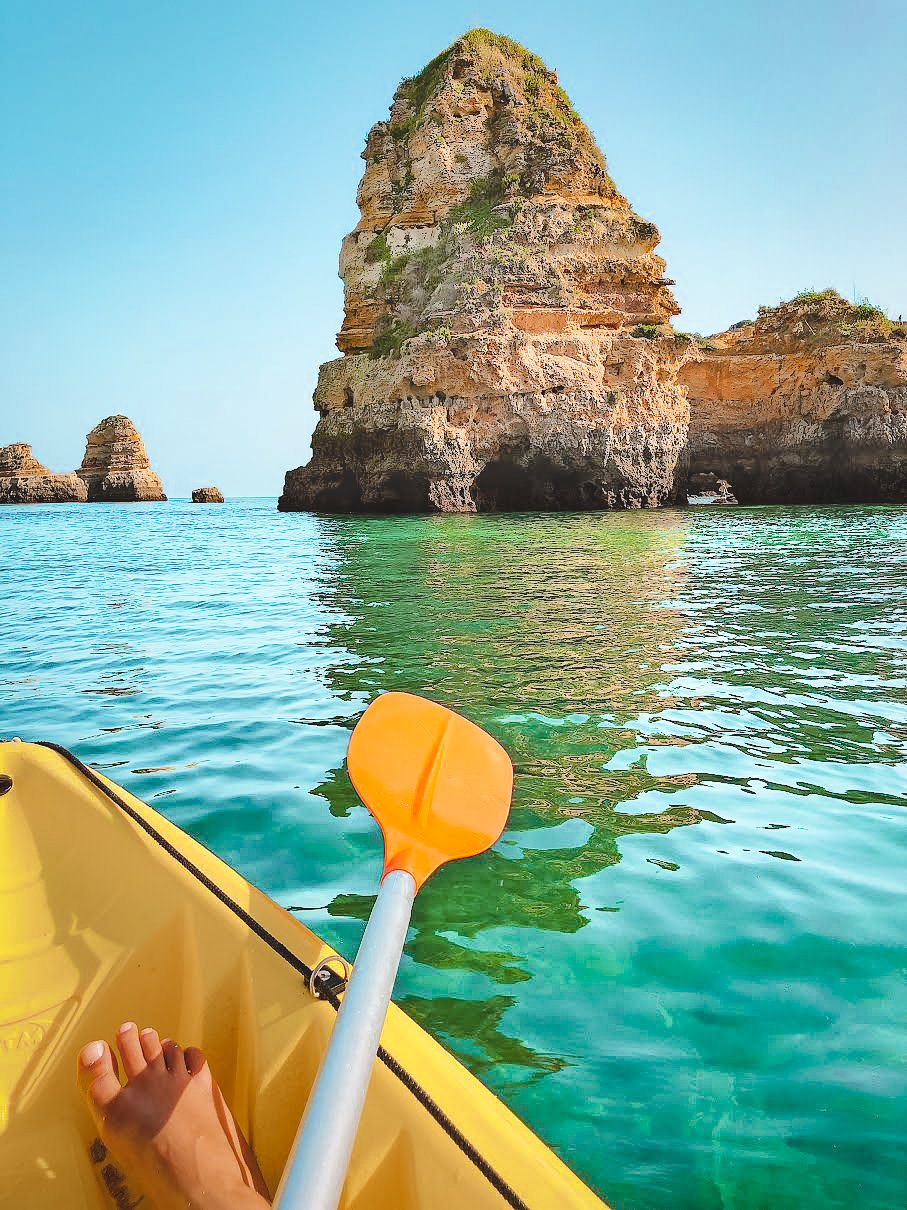 Muslim-travel-blog-Algarve-Portugal-kayaking-Lagos