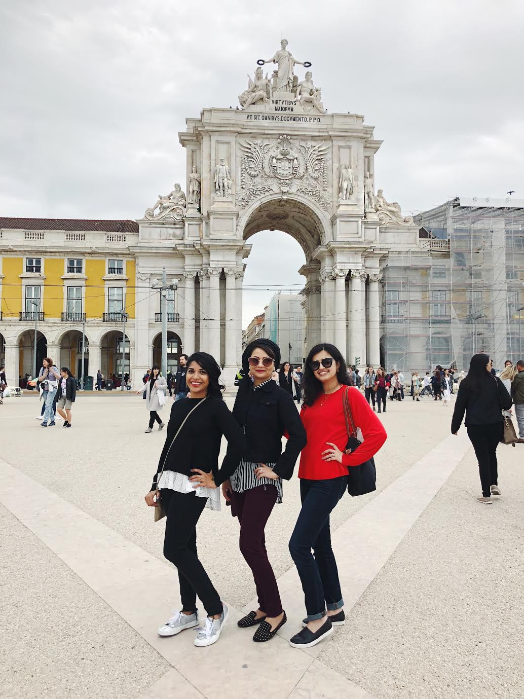 Lisbon-halal-travel-guide-tips-Rua-Augusta-Arch