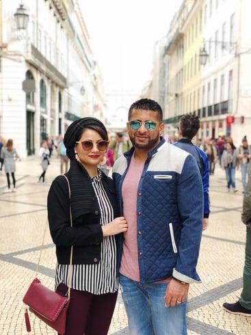 Muslim-travel-guide-Lisbon-Pombaline-street