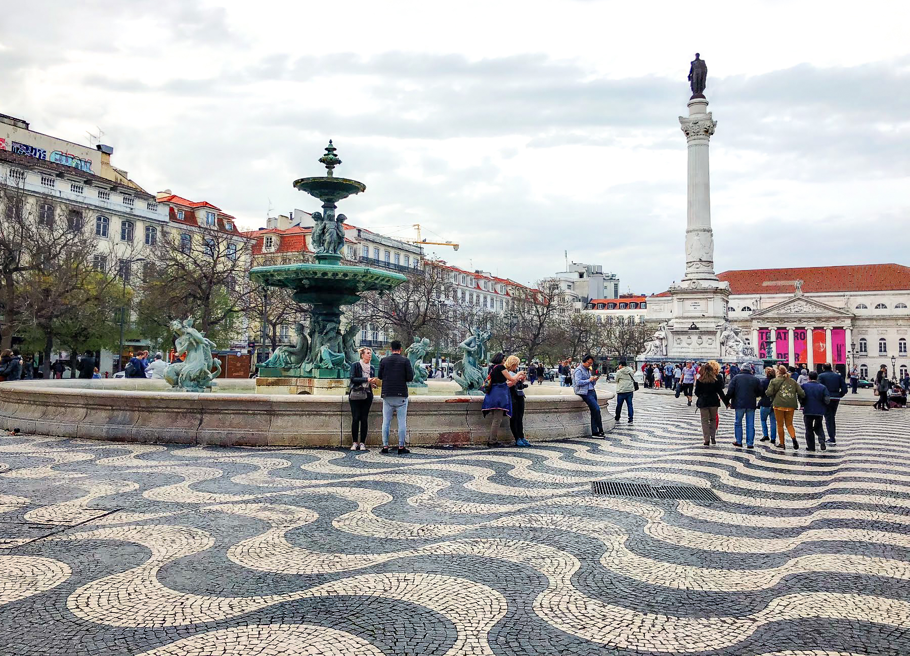 Muslim-travel-guide-Lisbon-Portugal-what-to-do-Rossio-Square