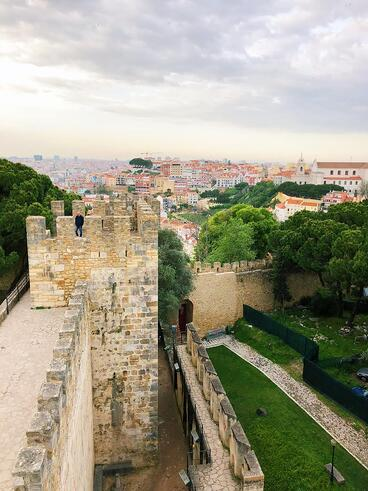 Muslim-travel-guide-Lisbon-tips-Moors-castle
