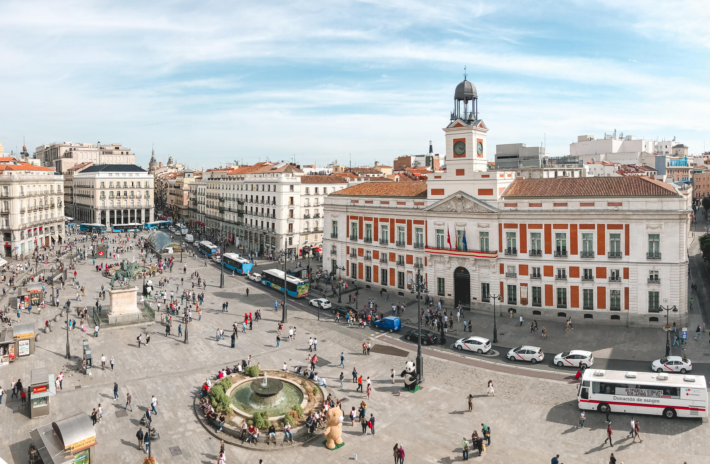 Puerta Del Sol Muslim travel guide Madrid