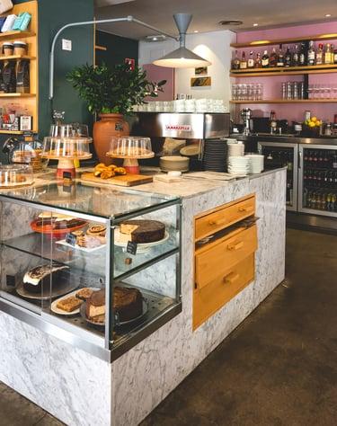 Halal brunch cafe in Madrid