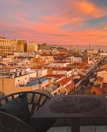 muslim-travel-guide-Madrid-Spain-sunset-views