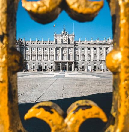 Royal Palace architecture Madrid