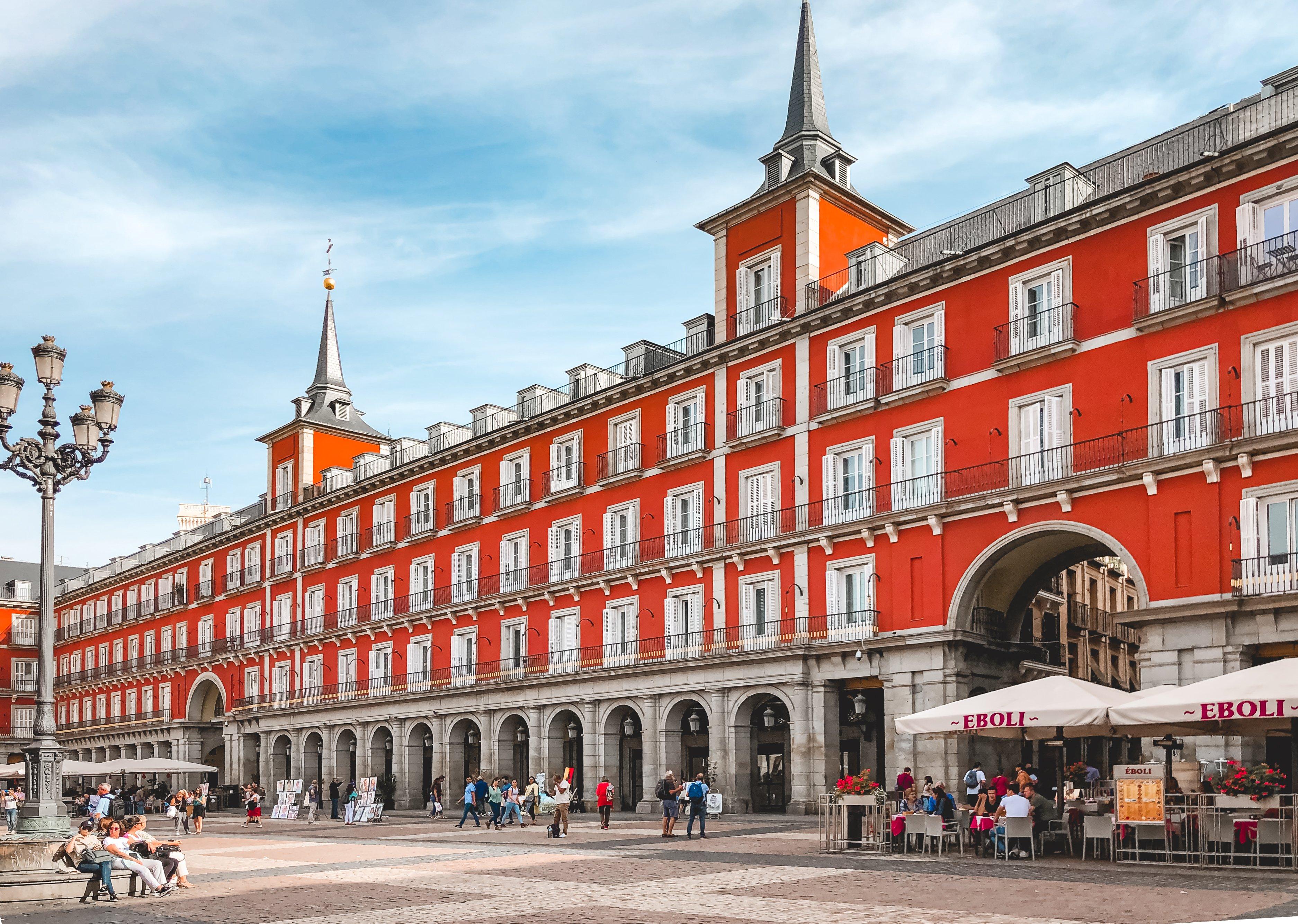 Plaza Mayor architecture Madrid