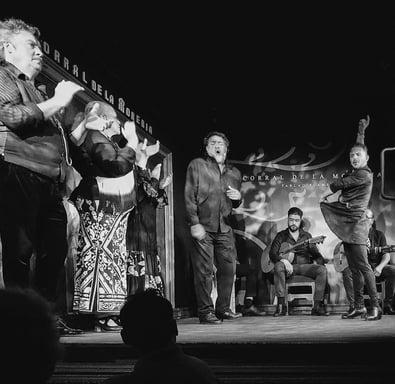Flameno dancers at Corral de la Moreria Madrid