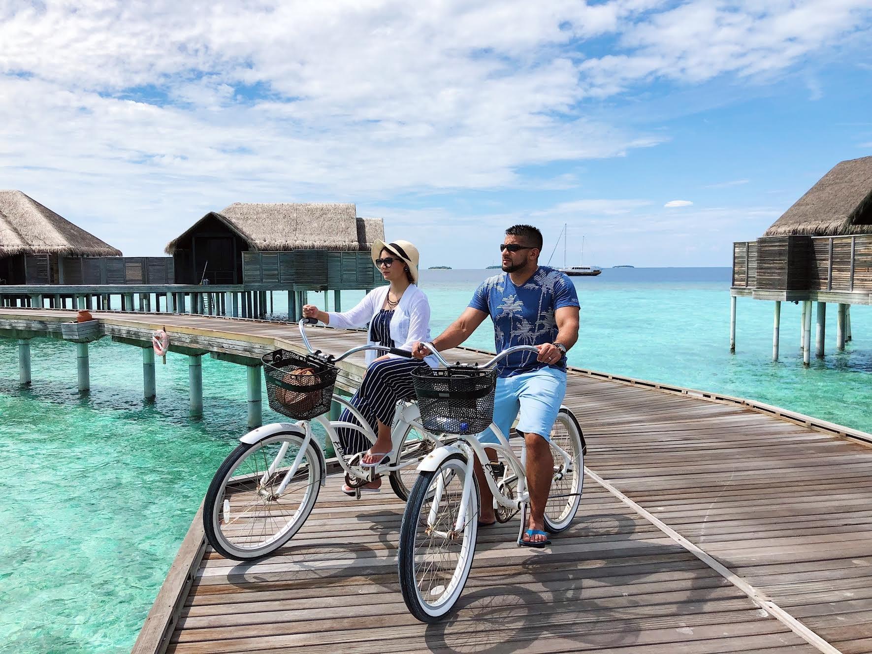 Muslim-travel-blog-halal-travel-guide-Maldives-biking