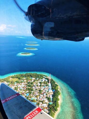 Muslim-travel-guide-Maldives-blog-seaplane-view