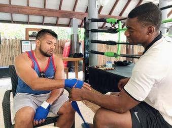 Muslim-travel-guide-Maldives-blog-tips-things-to-do-muay-thai-boxing
