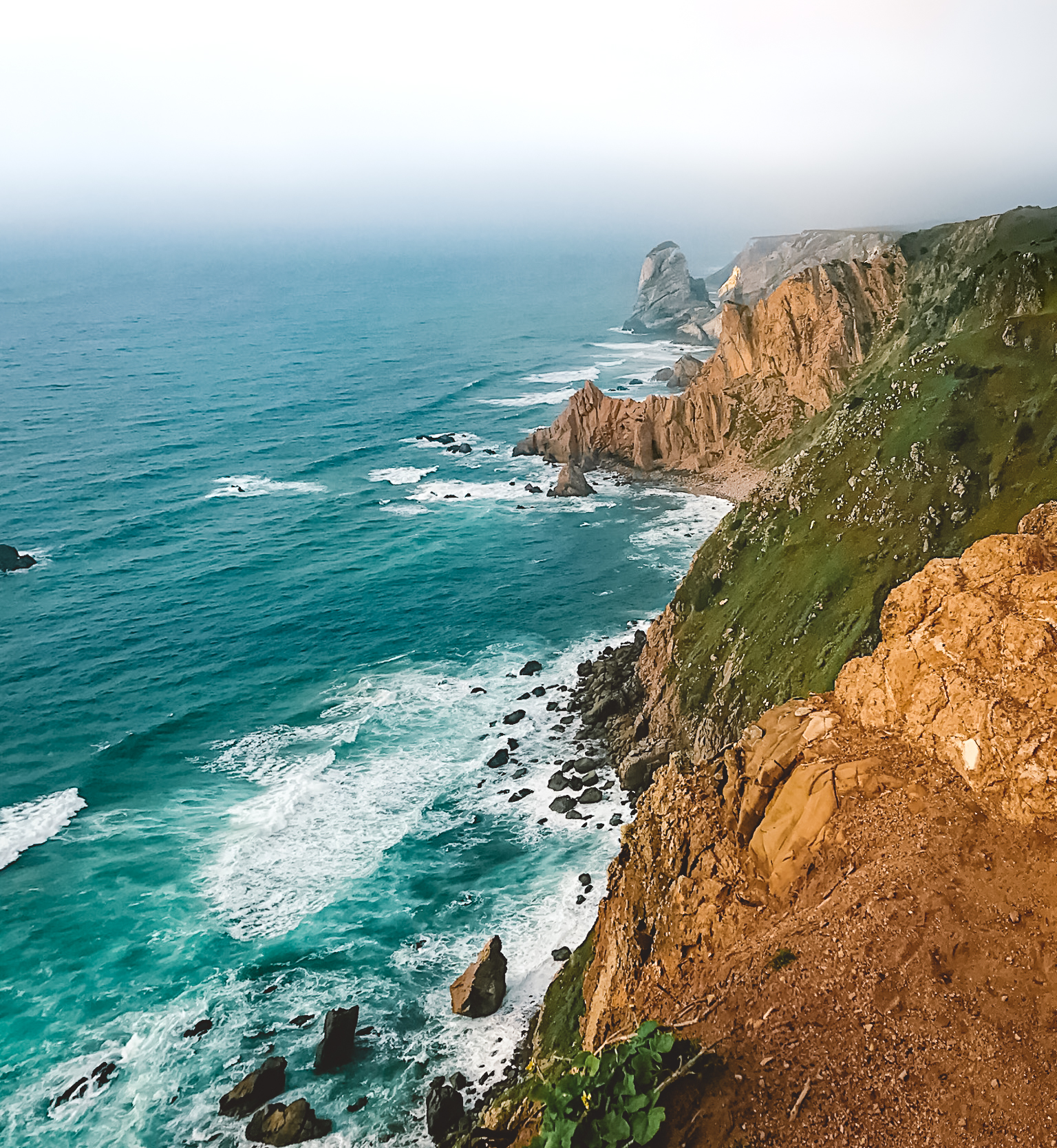 Muslim-travel-guide-Cabo-da-Roca-Sintra-Portugal-cliffs