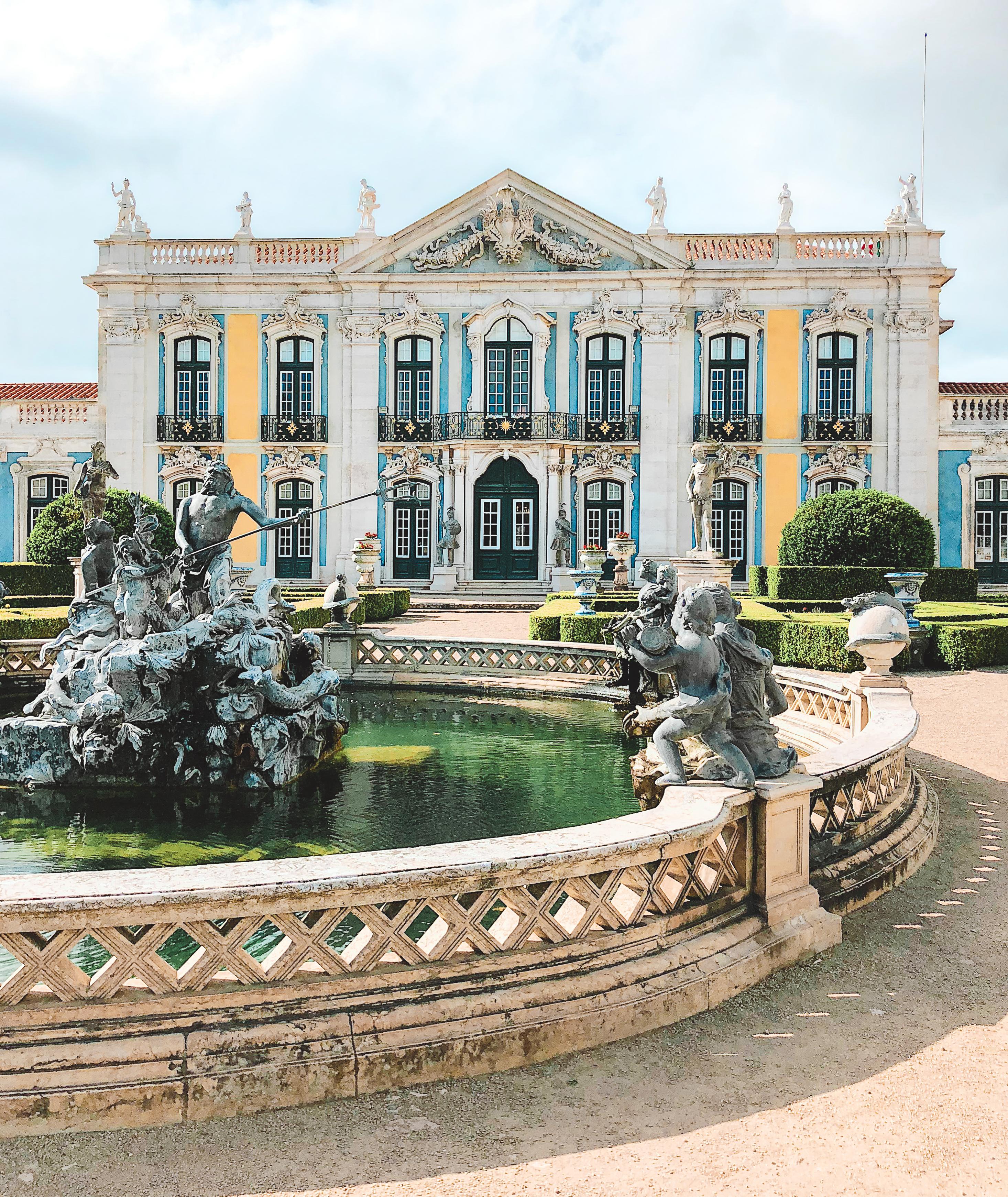 Muslim-travel-guide-Sintra-Portugal-Palace-of-Queluz-exterior