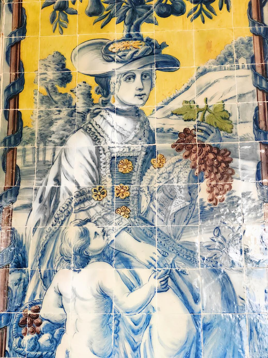 Muslim-travel-guide-Sintra-Portugal-Palace-of-Queluz-tiles-2