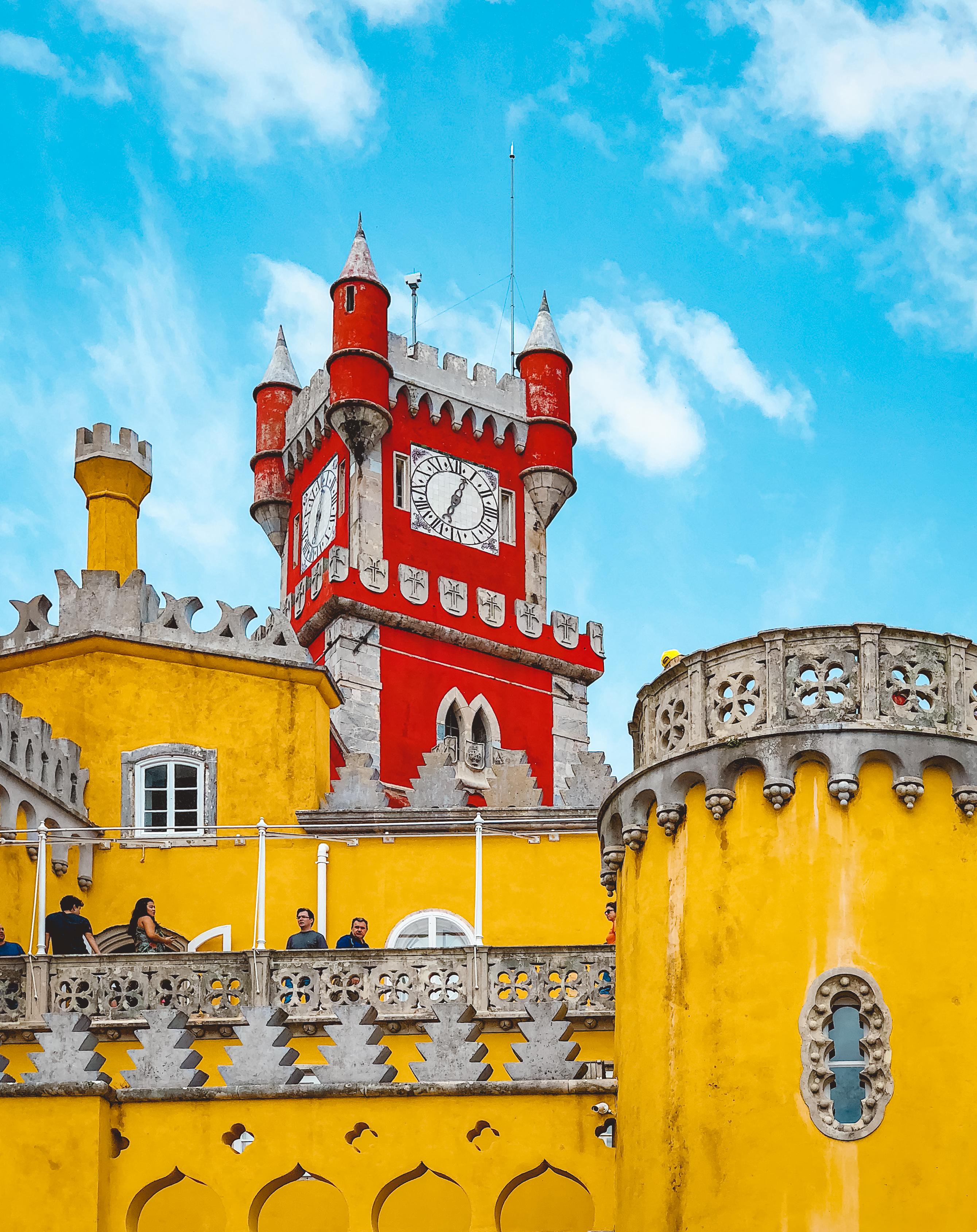 Muslim-travel-guide-Sintra-Portugal-Pena-Palace-clock-tower