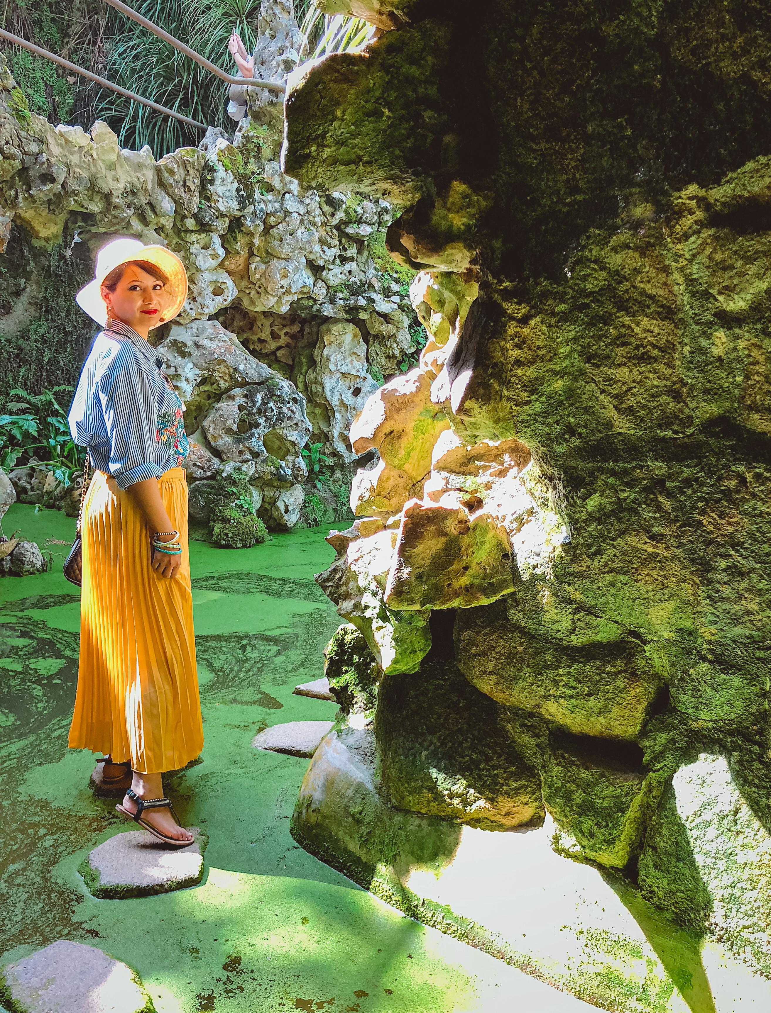 Muslim-travel-guide-Sintra-Portugal-Quinta-da-Regaleira-garden-water-caves