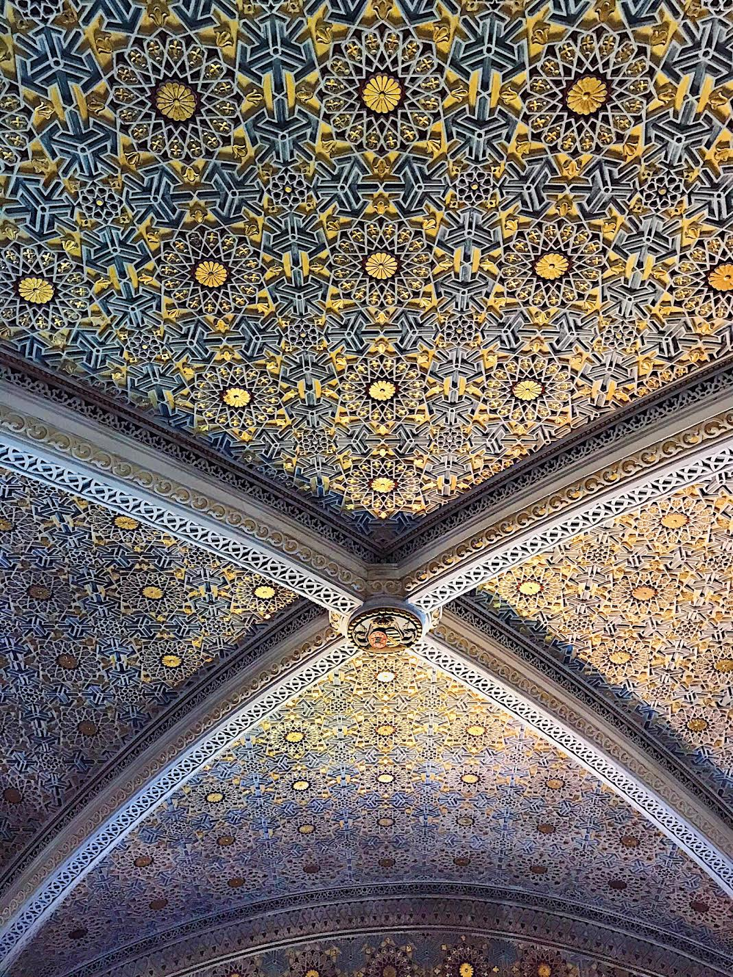 Pena-Palace-intricate-ceiling