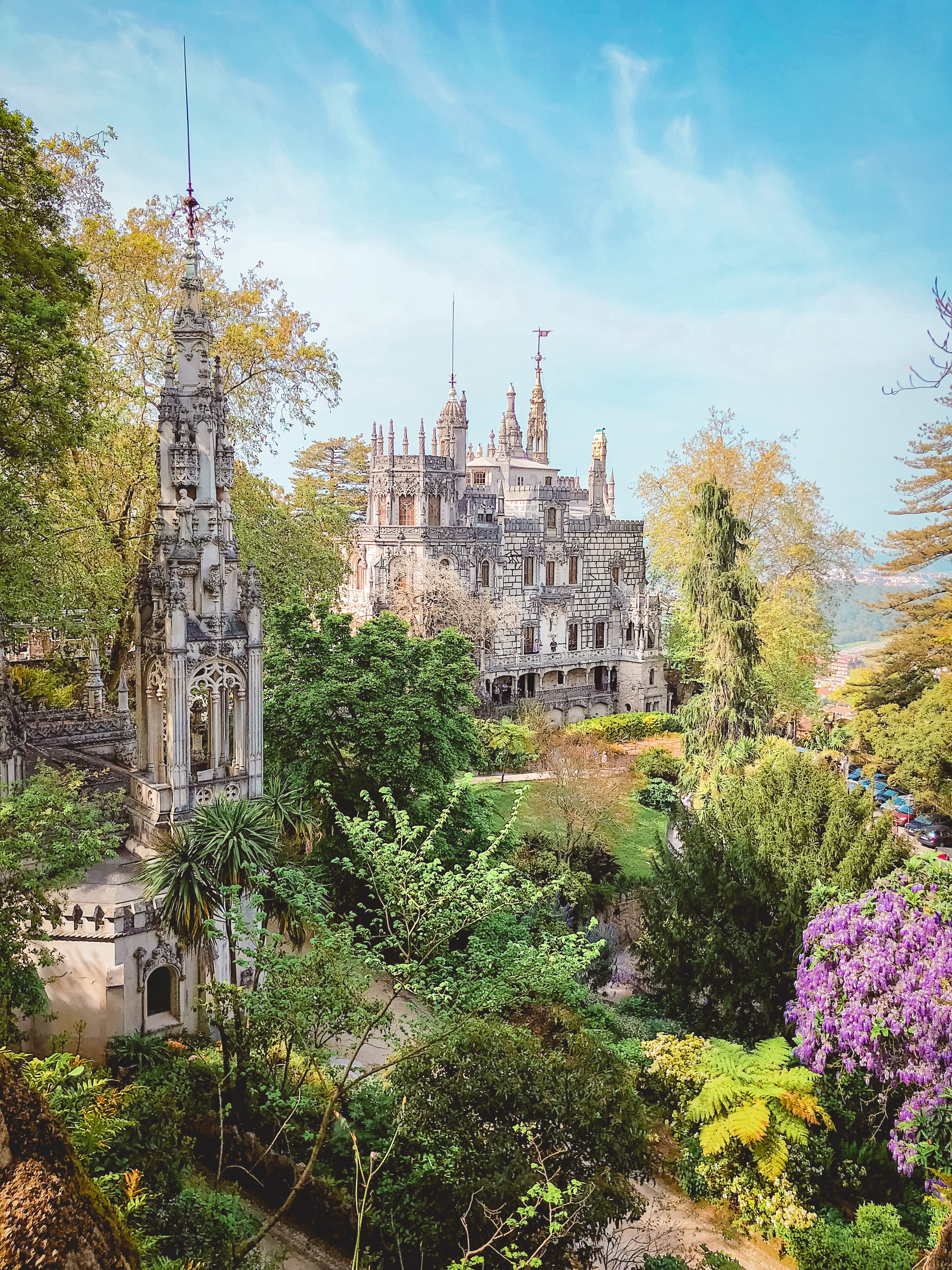 Quinta-da-Regaleira-forest-Sintra-palace-travel-recommendations