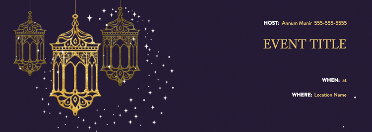 Hosting a festive eid party event eid party invitation designg stopboris Choice Image
