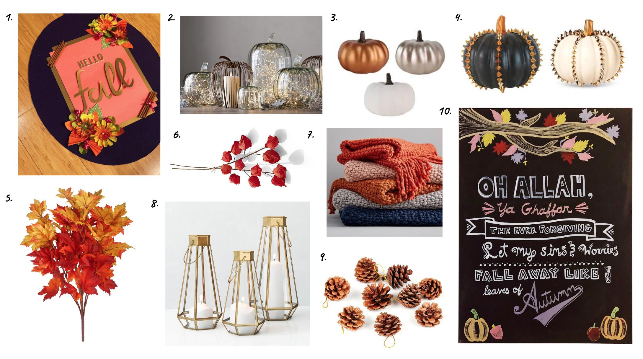 Muslim-home-decor-blog-modern-fall-decorating-inspiration-board