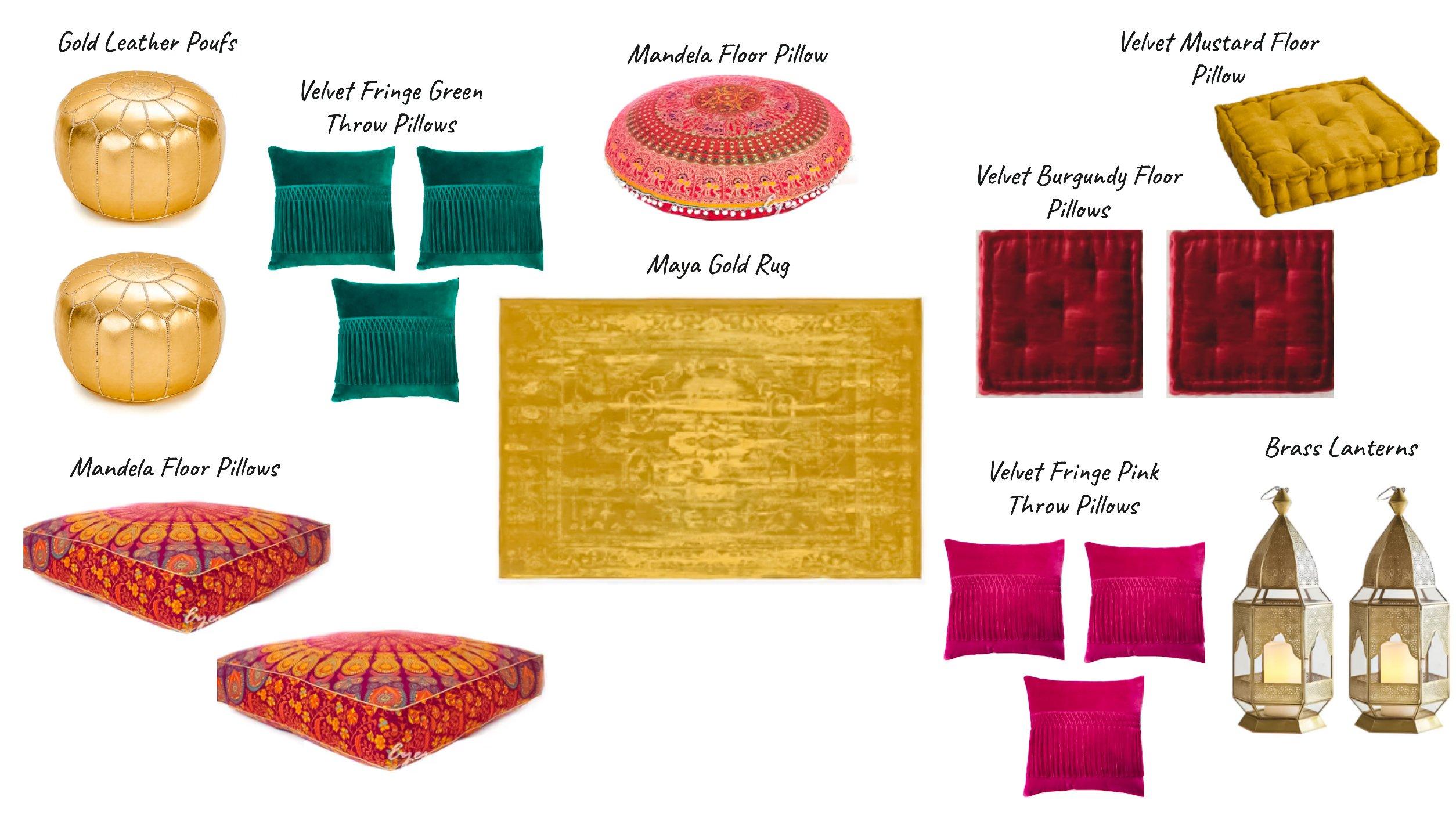 Moroccan Eid picnic inspiration board