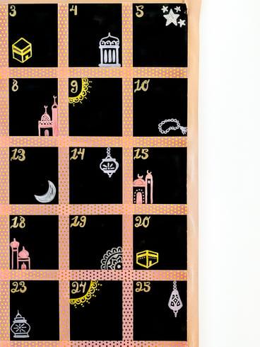DIY-Ramadan-decor-chalkboard-advent-calendar-tutorial