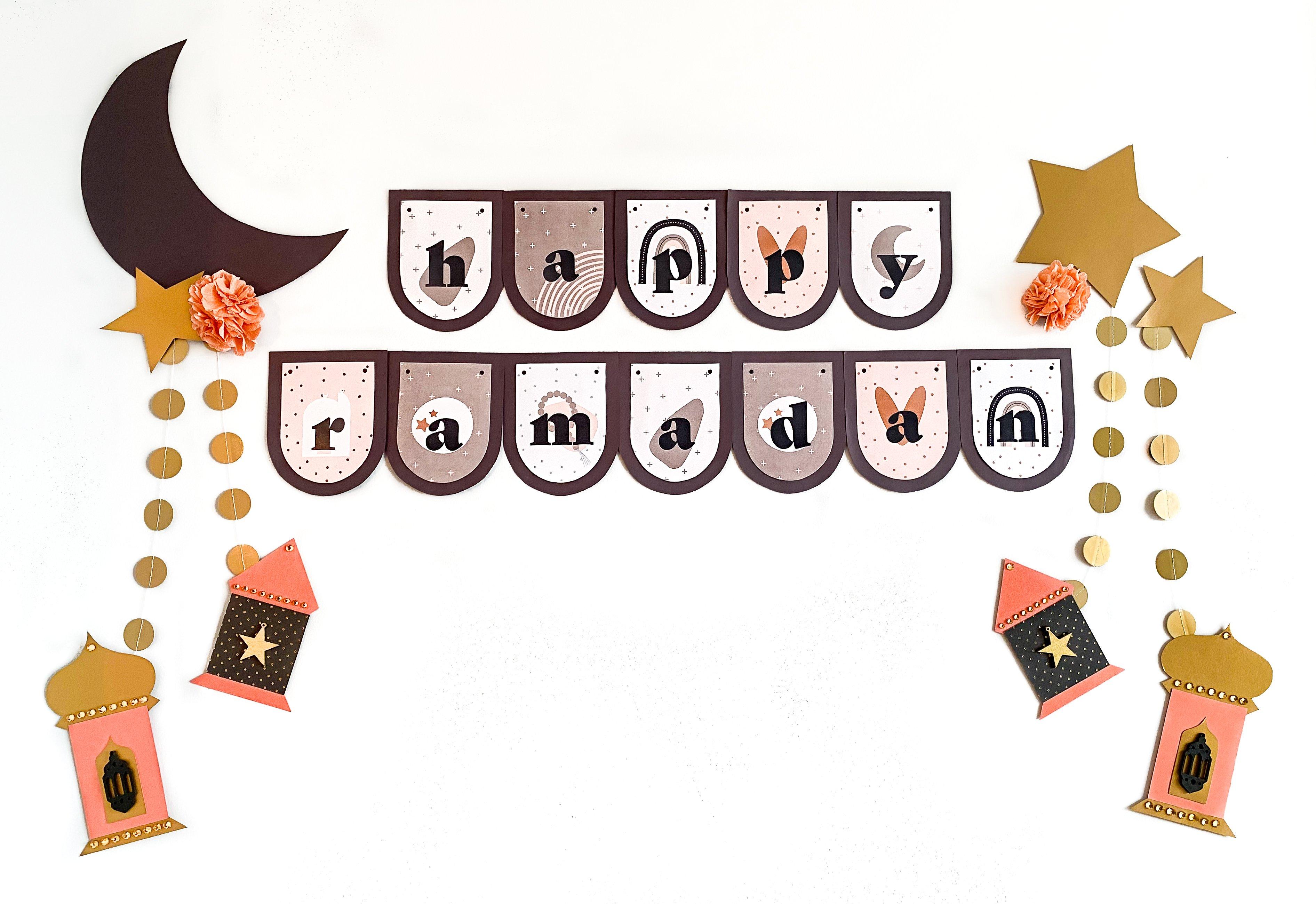 DIY-Ramadan-decorations-happy-Ramadan-banner