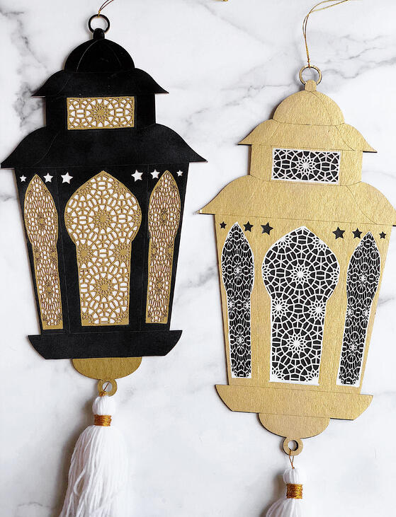 Elegant-Ramadan-decorations-lanterns