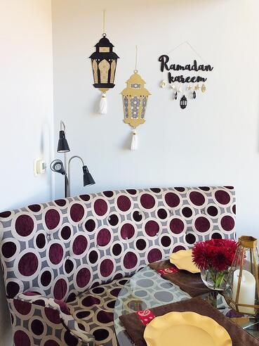 Ramadan-decorations-table-setup