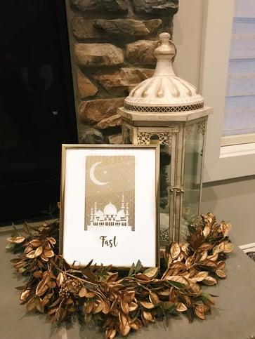 Modern-Ramadan-decor-framed-fasting-print