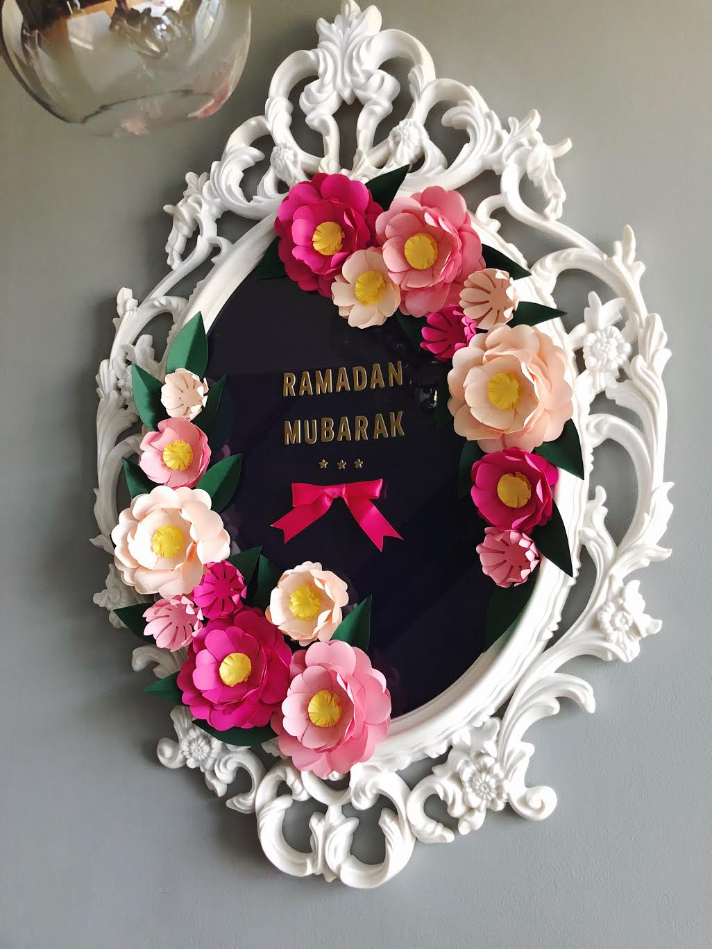 Modern-ramadan-decor-ikea-mirror-wreath